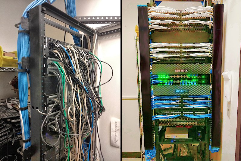 Before and After - Realize Information Technology I.T. Services - Tulsa, OK
